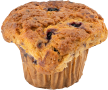 mags blueberry muffin bakery item