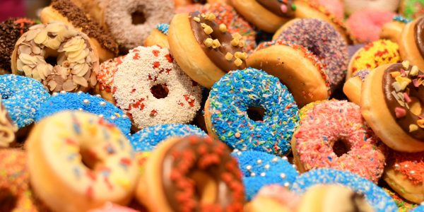 group of various donuts in irvine