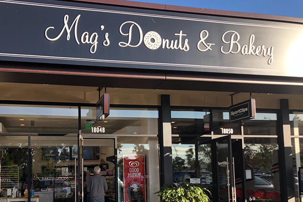 mag's donuts and bakery in university park center irvine california